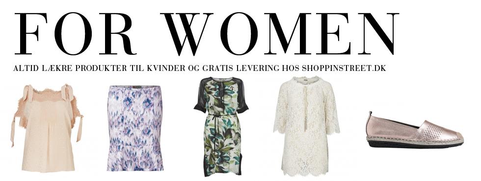 Kvinder modetøj - ShoppinStreet.dk - Falkoner Alle københavn